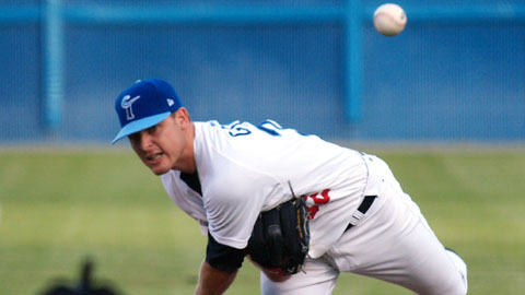 Chris George tossed six strong innings Friday night.