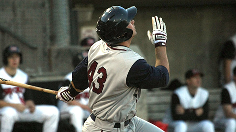 Mobile's Paul Goldschmidt hit 35 homers as Cal League MVP last season.