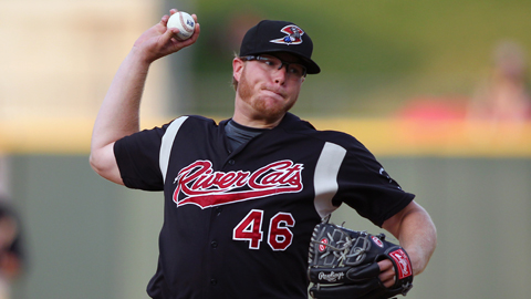 A.J. Griffin has a 2.64 ERA across two levels this season.