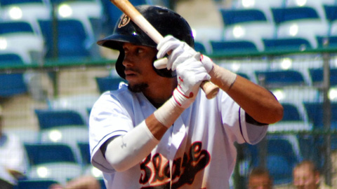 Billy Hamilton's .416 OBP ranks second in the California League.